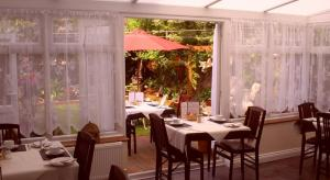 Photo of the dining room for breakfast
